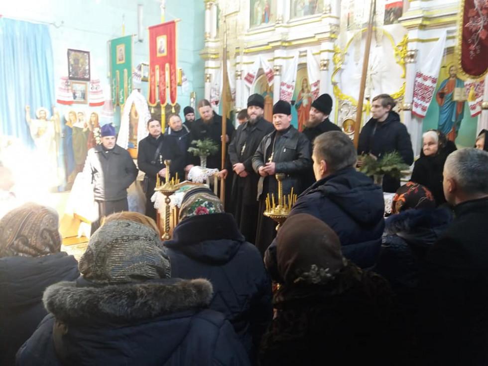 Парафіяни церкви у Боблах