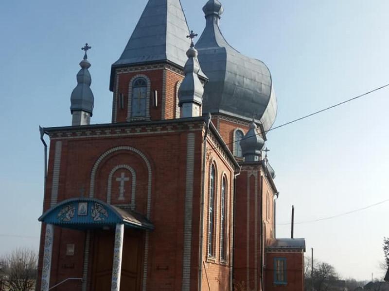 Церква в селі Дуліби