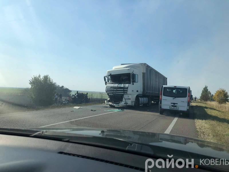 Аварія біля Лукова
