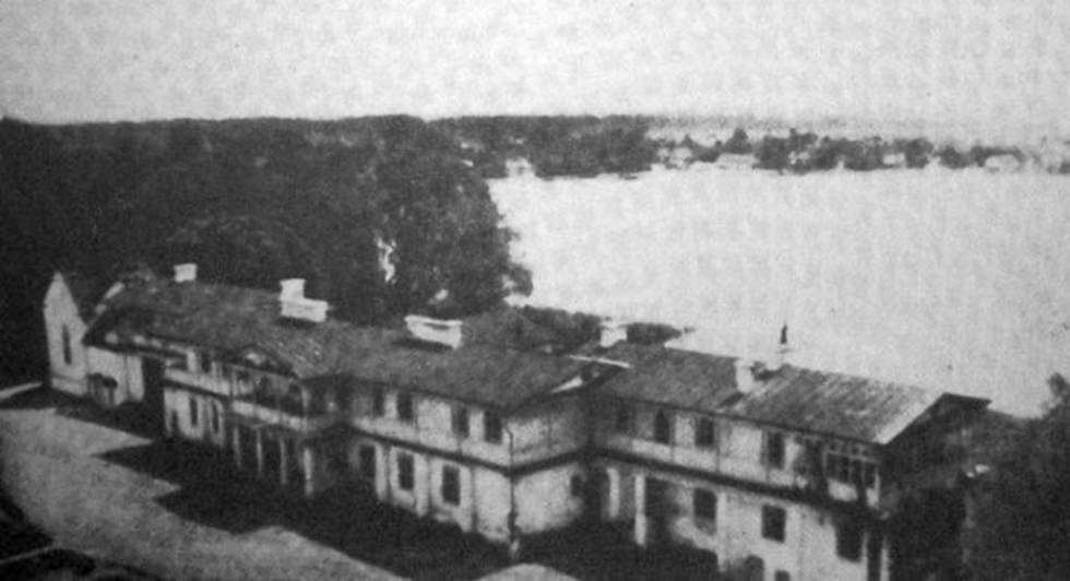 Палац в Дольську, поч. ХХ століття
