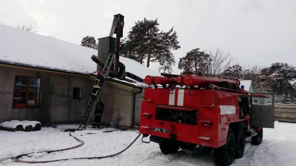 У Кульчині трапилась пожежа