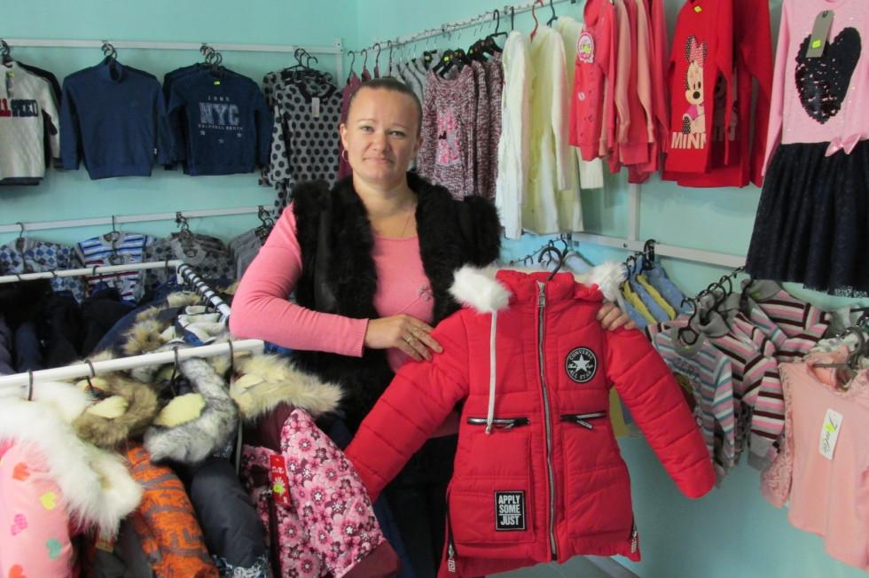 Тетяна Заньчук у своєму магазині