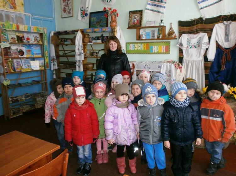 Вихованці Луківського ДНЗ побували на екскурсії у Луківській міській бібліотеці