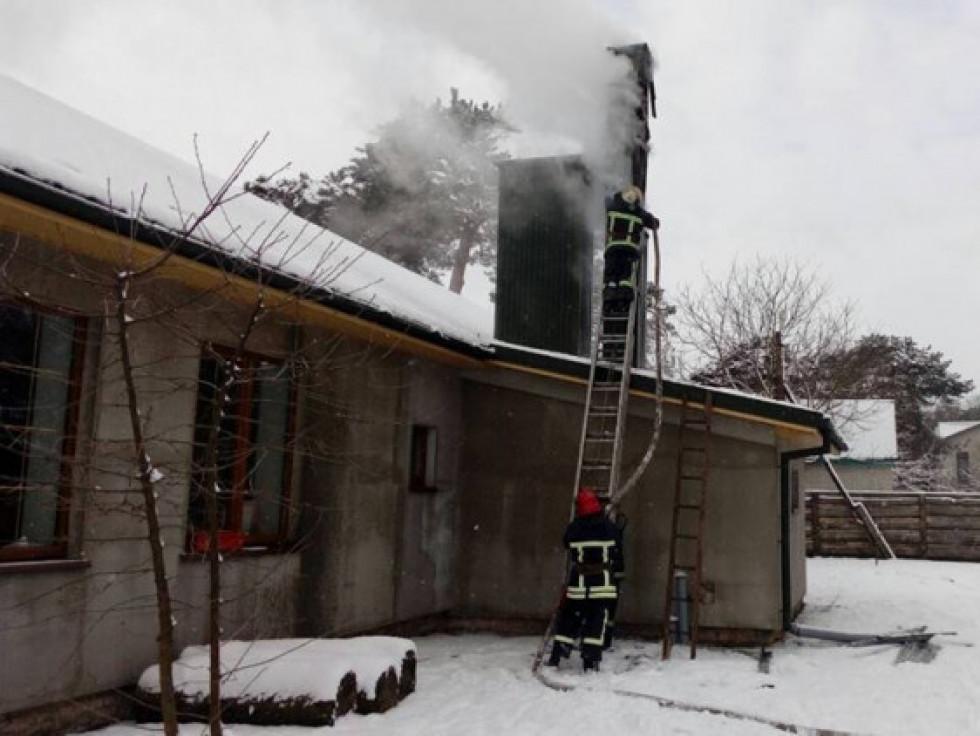 У селі Кульчин горів житловий будинок