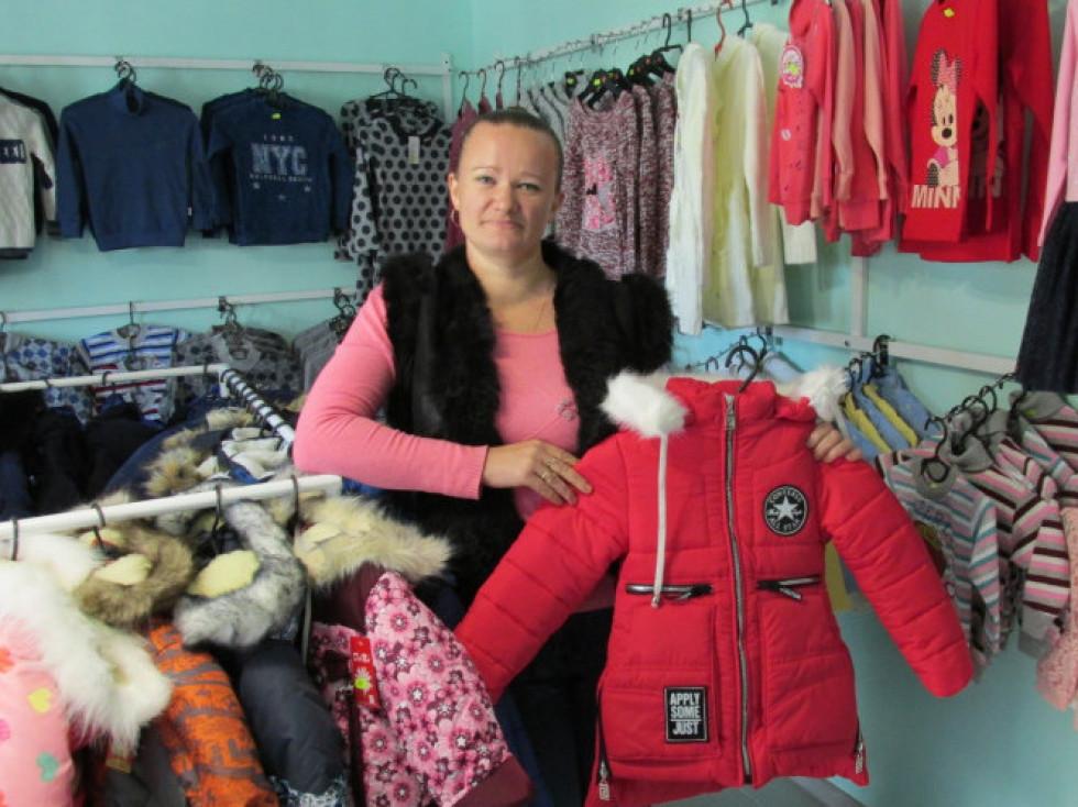 молода мама відкрила свій бізнес