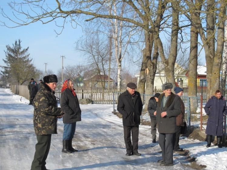 Жителі села Овлочин