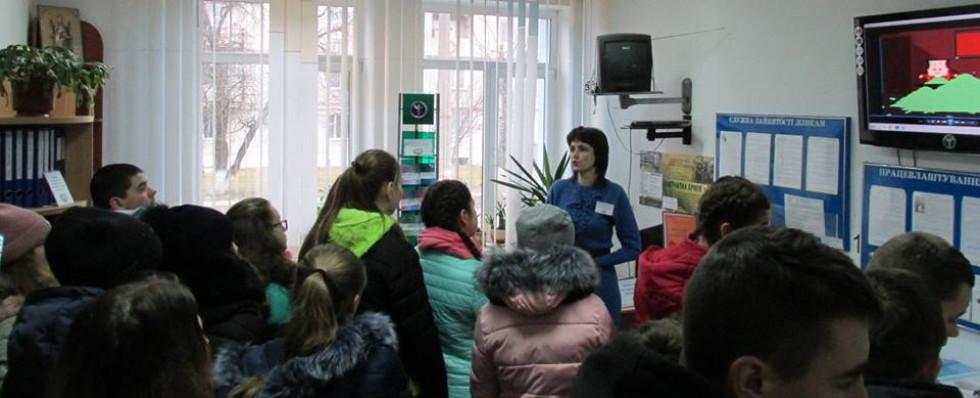 Турійський районний центр зайнятості провів для майбутніх випускників день «відкритих дверей»