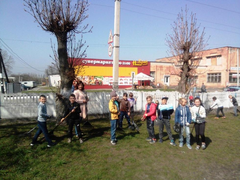 Луківчани взяли участь у акції «За чисте довкілля»