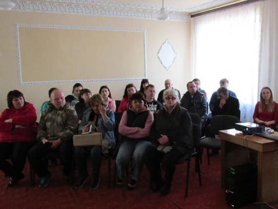 У Луківській об'єднаній територіальній громаді навчали роботодавців