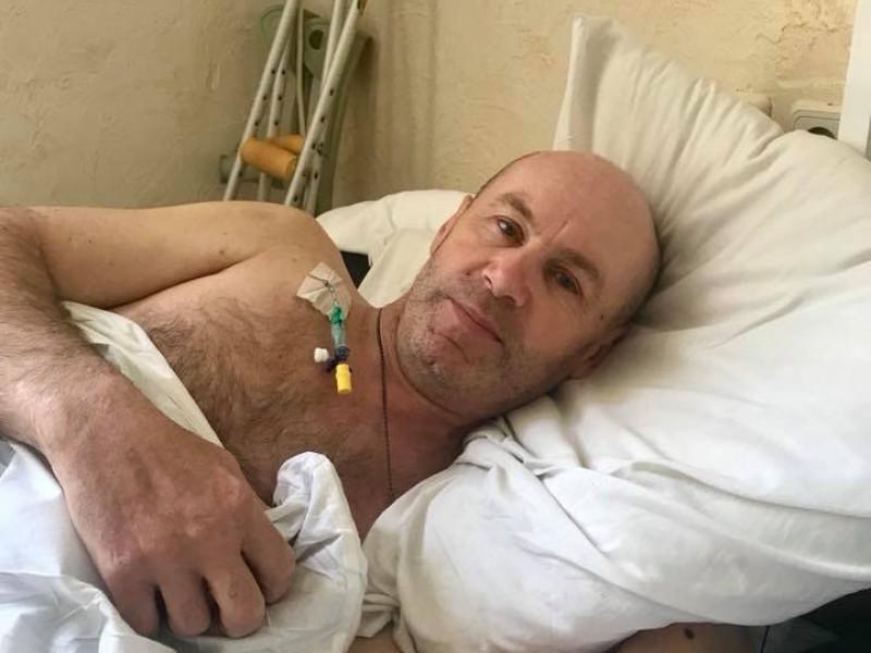 Прооперували турійчанина, який отримав поранення у зоні АТО