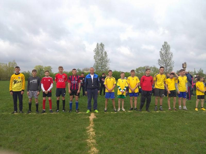 Юні футболісти позмагалися у вправності з футболу