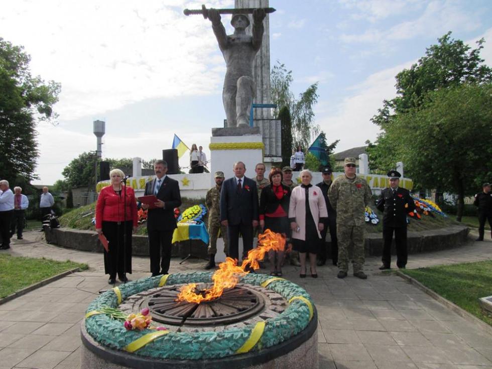 У Турійську вшанували пам'ять полеглих у Другій Світовій війні