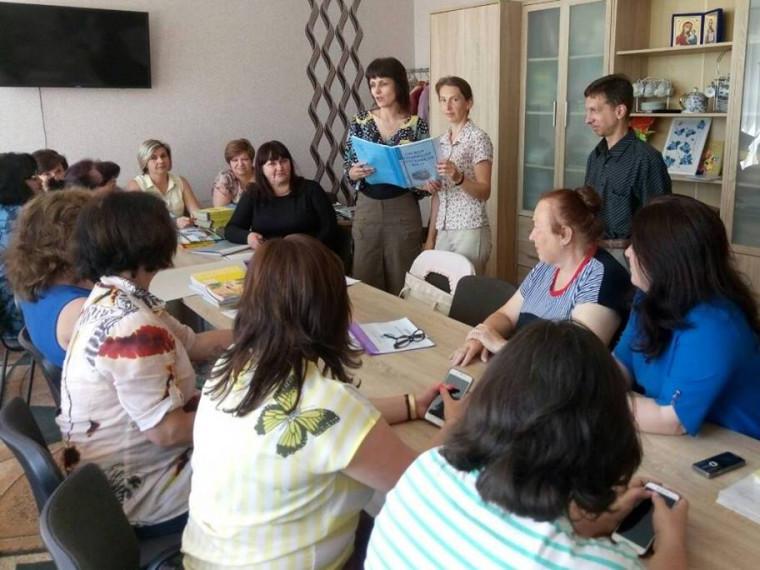 Працівники Турійського РЦЗ зустрілися з місцевим педагогічним колективом