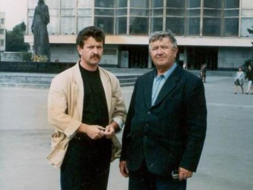 Павло Марчук (праворуч)