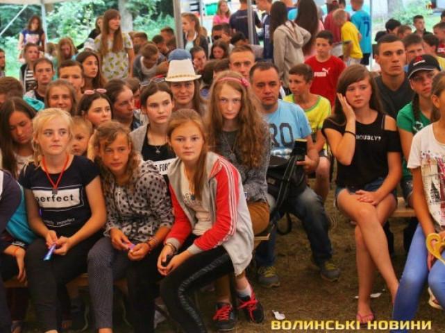 Десятий підлітковий фестиваль Волині «Вся слава належить Богу»