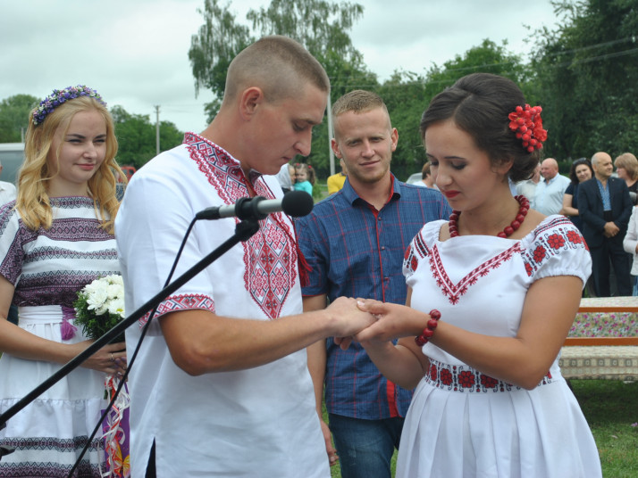 Весілля Романа та Ірини Шустваль