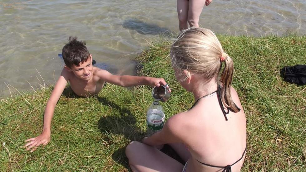 Свято відбулося на березі озера Сомин