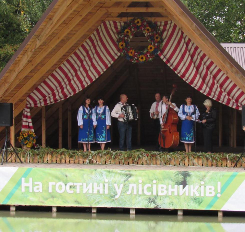 Концерт для гостей та винуватців свята створили творчі колективи Турійщини та Волині