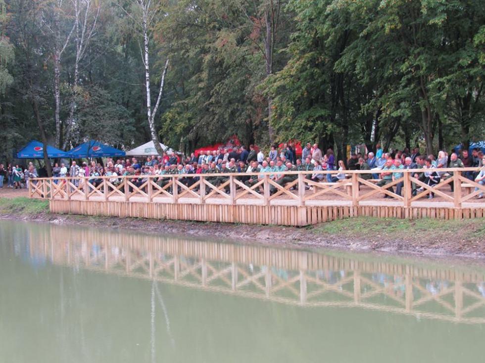 Для охоронців Турійського лісу влаштували урочистості та святковий концерт