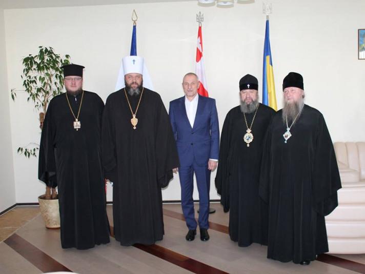 Турійський єпископ зустрівся із головою Волинської ОДА