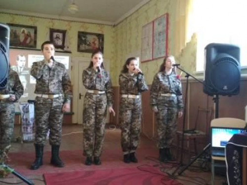 Вихованці навчальних закладів Турійщини співали повстанських пісень