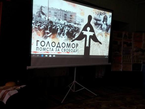 Школярі з Турійщини вшанували пам'ять жертв Голодомору