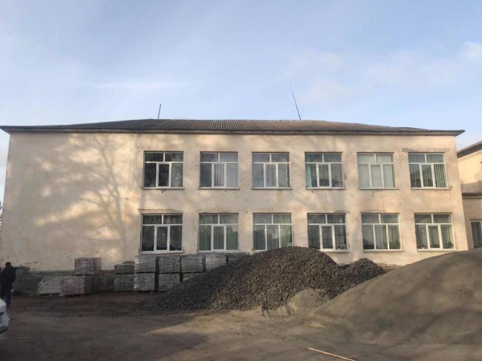 Навчальний заклад під час ремонту