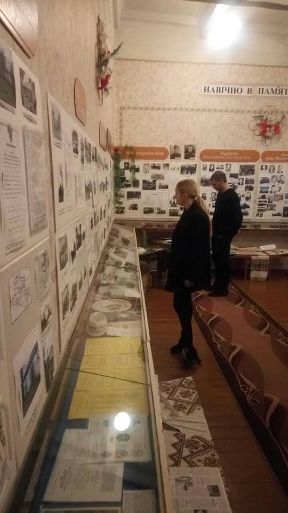 Найбільше враження на відомих гостей справив єдиний в Україні музей солом'яного мистецтва«Солом'яне диво»