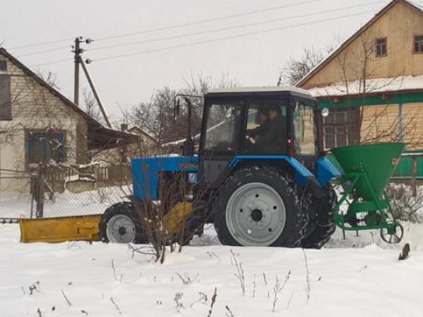 У Луківської ОТГ, що в Турійському районі, тепер є новий трактор МТЗ