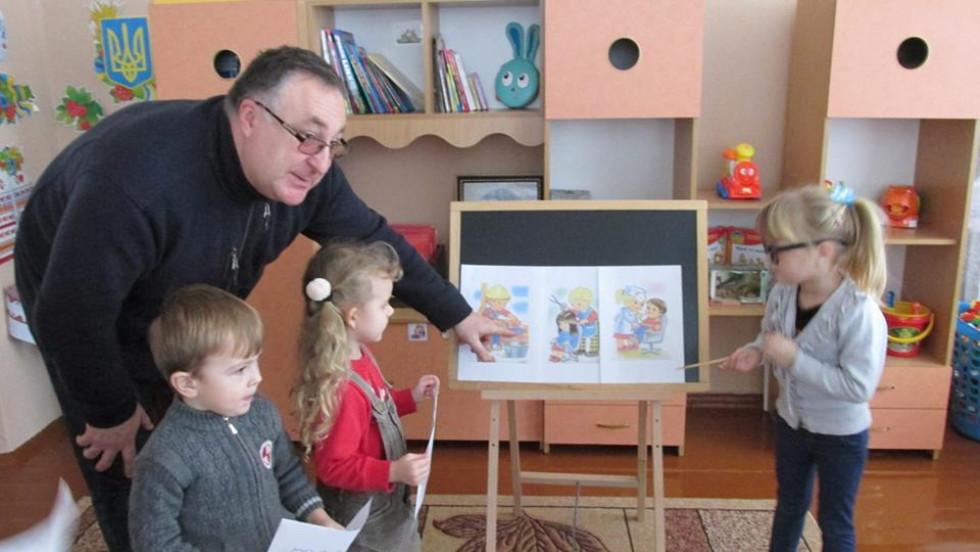 Для вихованців Турійського дошкільного навчального закладу провели інтерактивний інтелектуально-ігровий захід