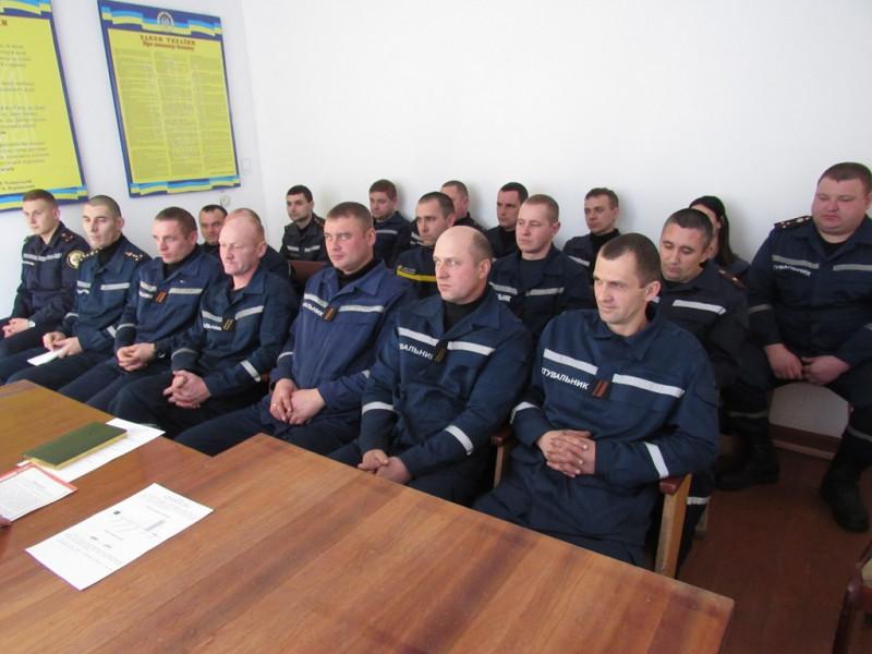 Турійські рятувальники підбили підсумки роботи минулого року