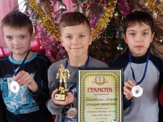 Четверо юних спортсменів  з Турійська привезли медалі з Міжнародного зимового футбольного турніру