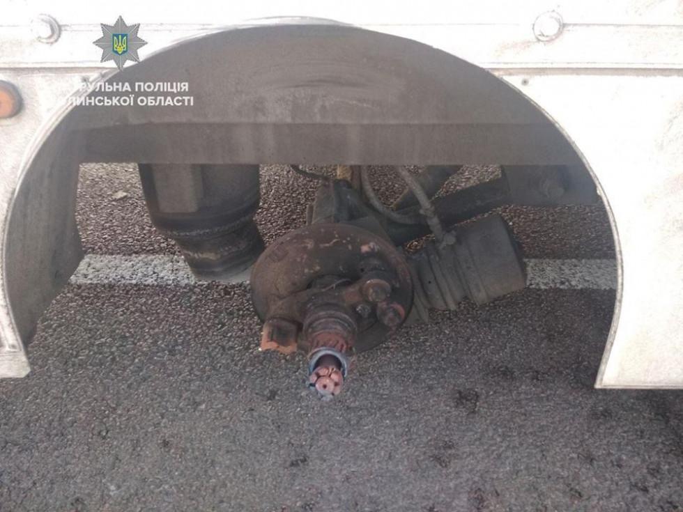 Інцидент трапився, бо водій машини не перевірив її технічнийстан перед виїздом
