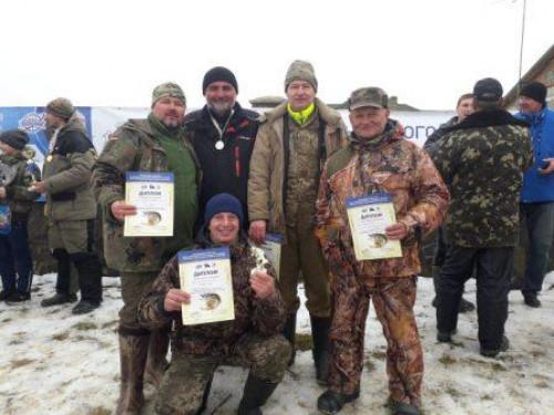 Турійські педагоги взяли участь у риболовних змаганнях