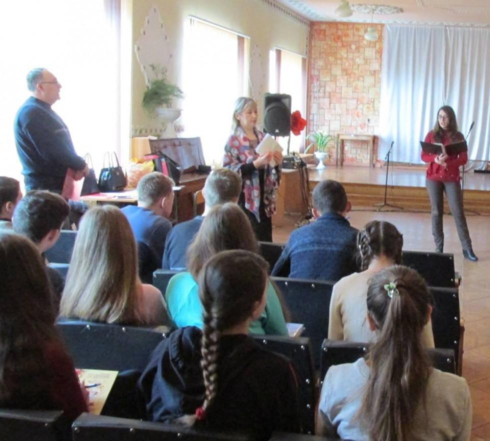 У школі села Соловичі випускникам провели профорієнтаційний захід