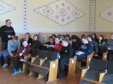 Соловичівським школярам допомогли обрати професії