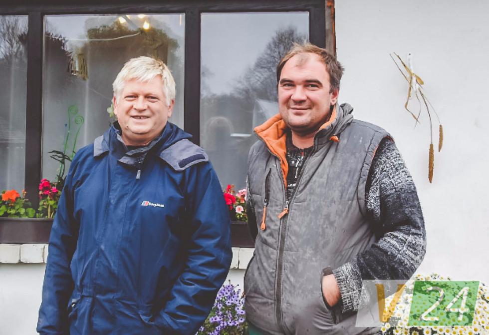 Геннадій Чудновець та Валерій Поліщук з Ялти переїхали в Дольськ