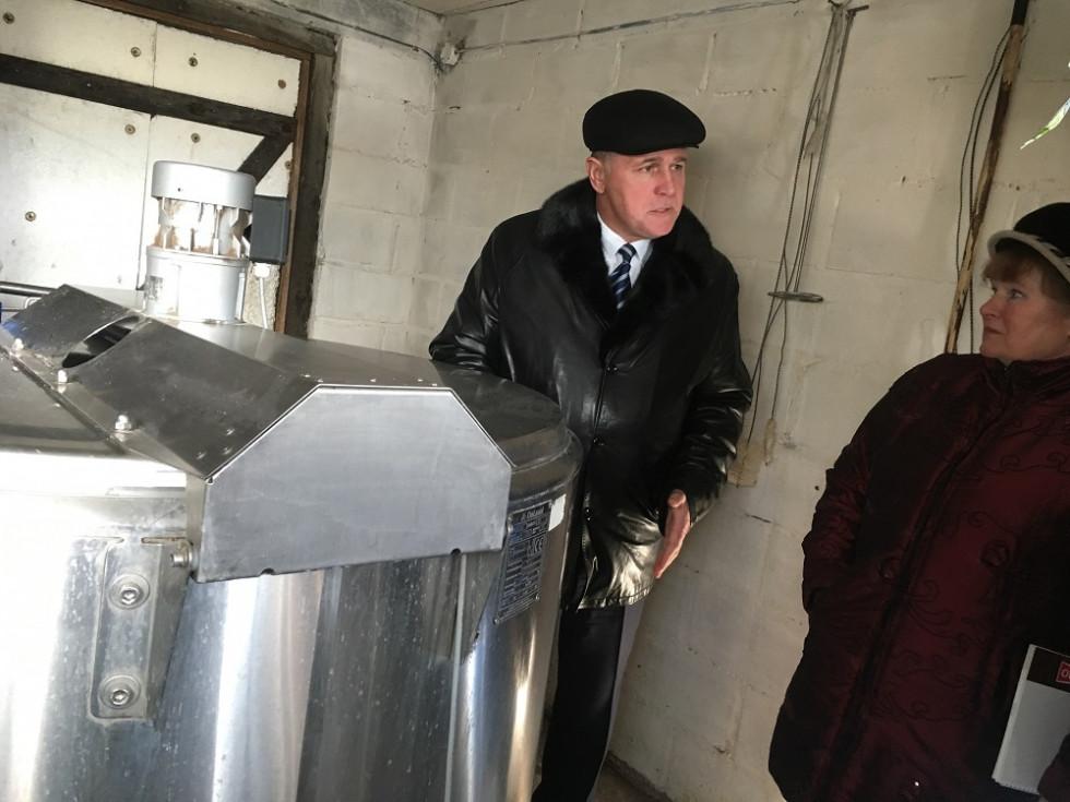 Молокозавод надав господині у безоплатне користування холодильне обладнання DeLaval  місткістю 800 літрів