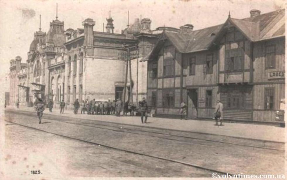 Вокзал станції Ковель