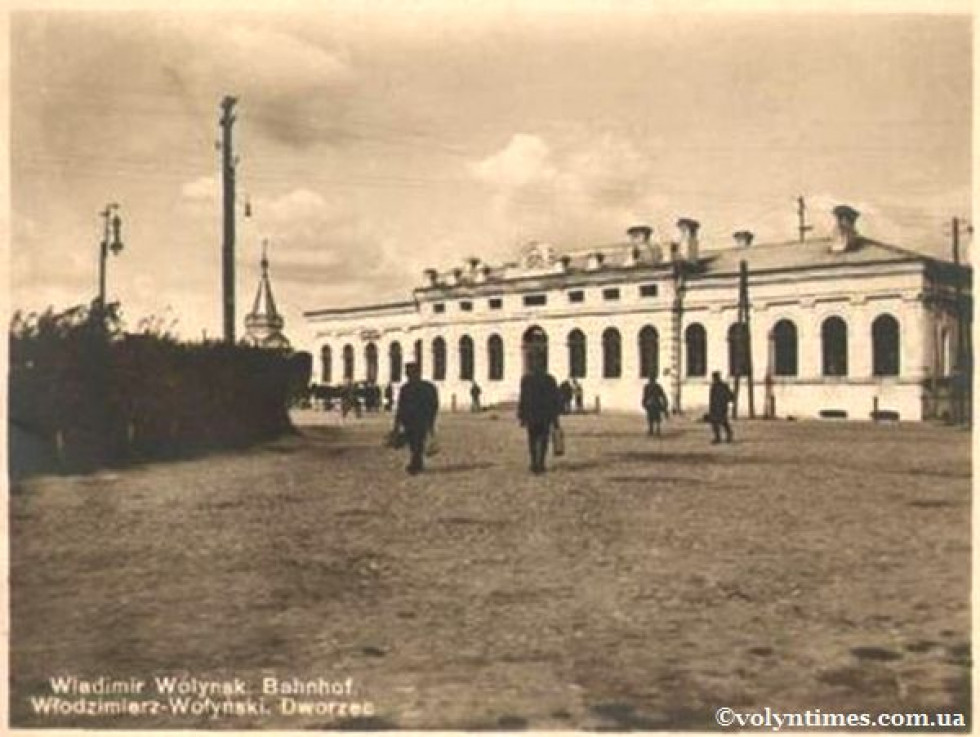 Вокзал станції Володимир-Волинський
