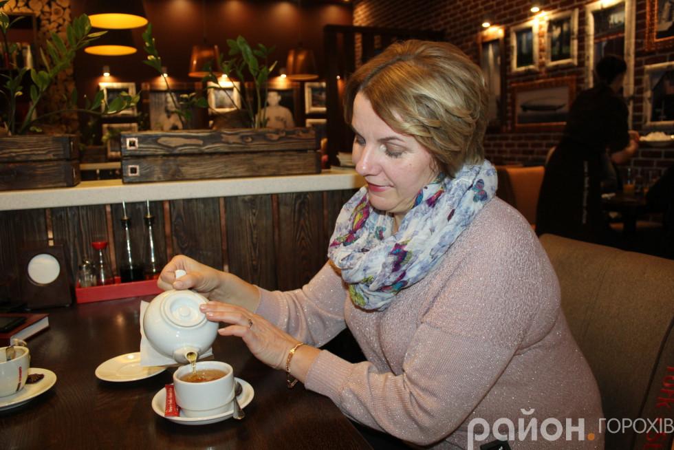 Зелений чай – корисний для Марії напій