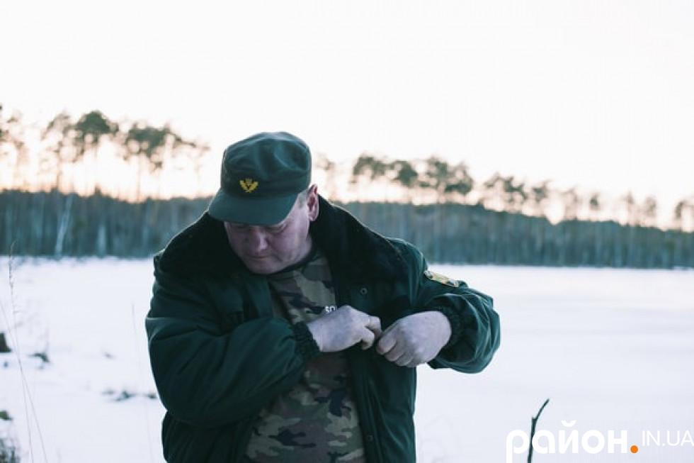 Майстер лісу цього обходу 51-річний Василь Лебідь