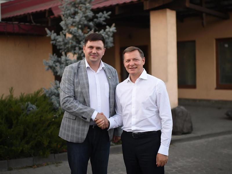 Володимир Кравценюк: «В команді Радикальної партії Олега Ляшка кандидати «від землі», від людей.