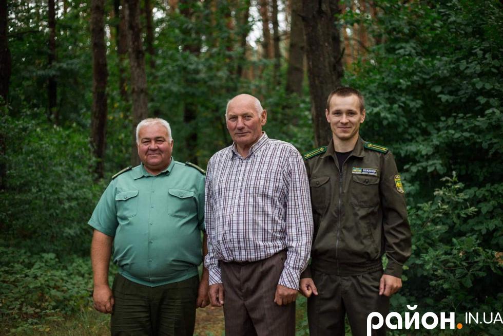 Віталій Погребський з молодшими колегами