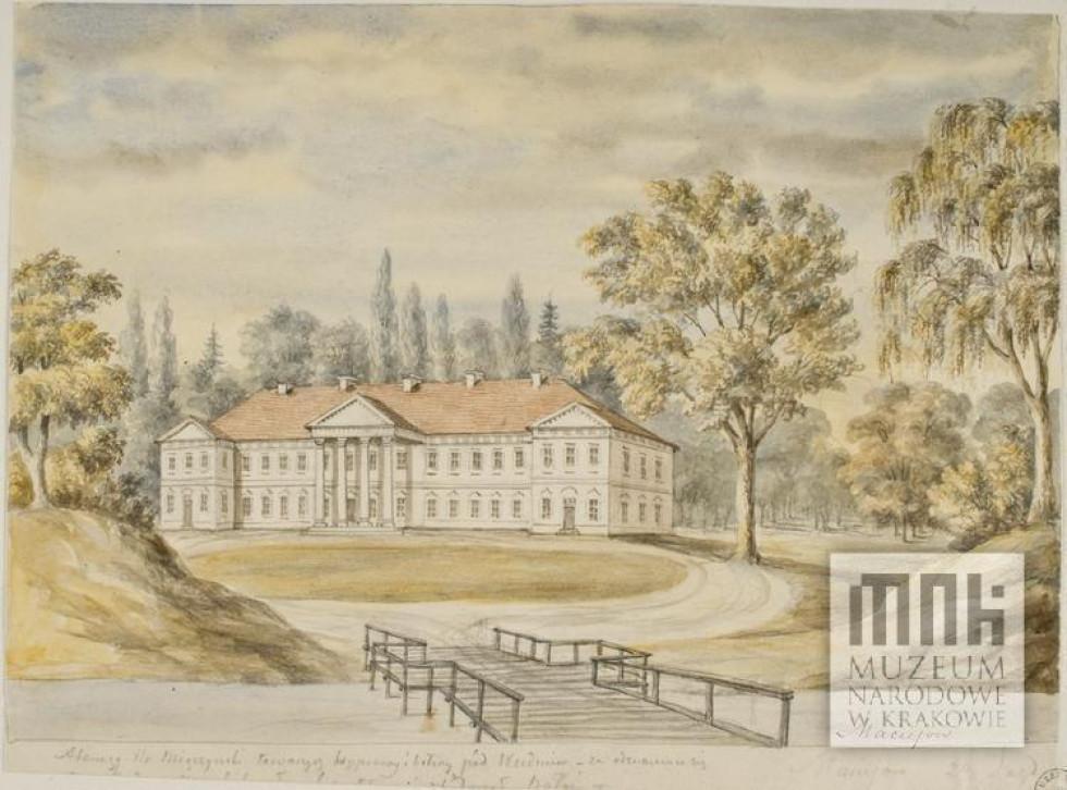 Палац на малюнку Наполеона Орди