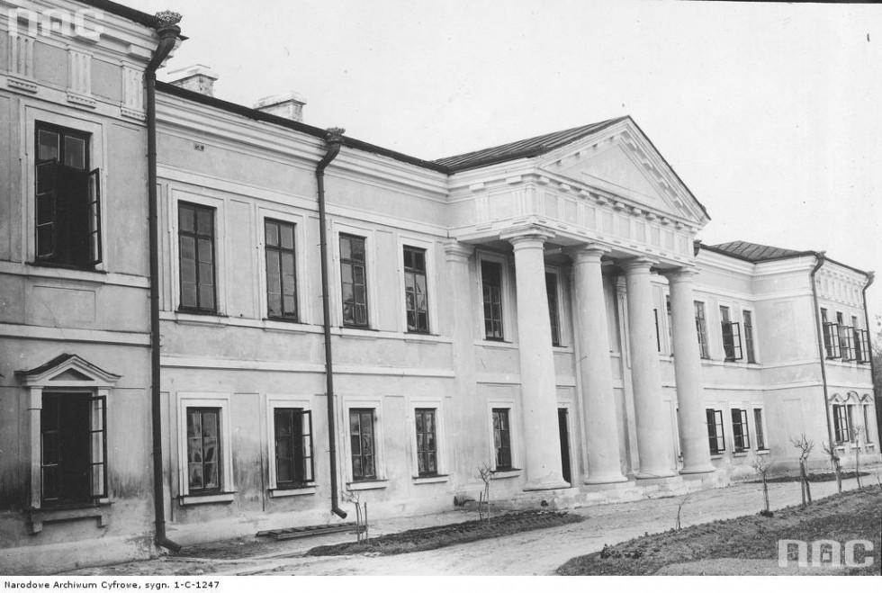 Палац на початку ХХ століття