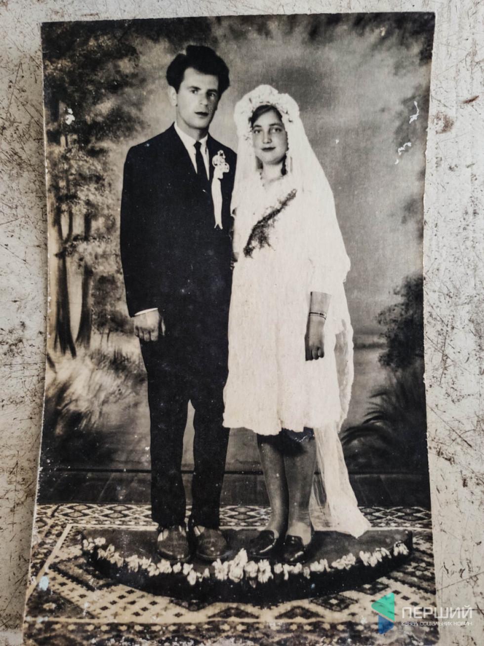 Йосип Зламанець із дружиною Євою.Фото 1966 рік