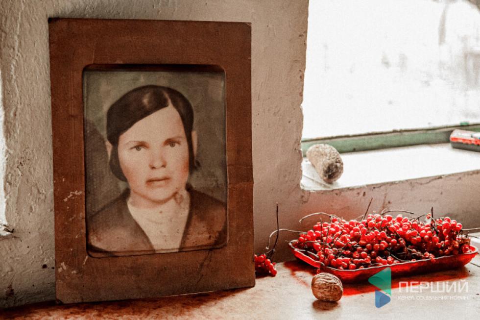 Єдине фото Пелагії Зламанець, яка було вбита поляками напочатку 1944 року  під час українсько-польських конфліктів