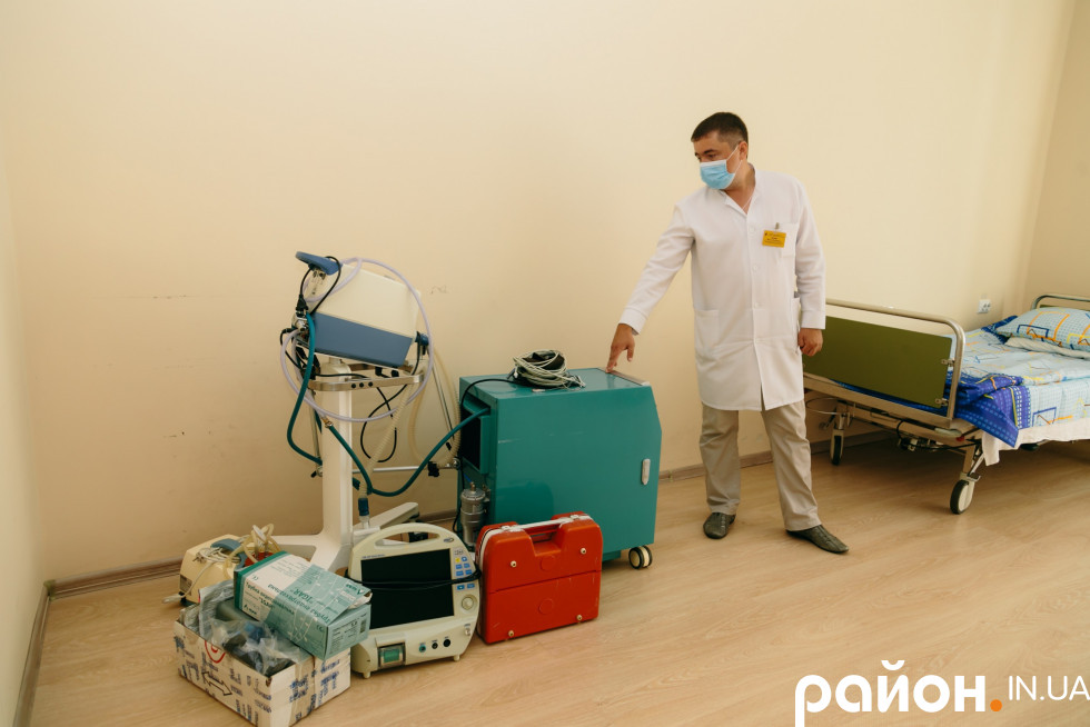 Апаратура для палати інтенсивної терапії