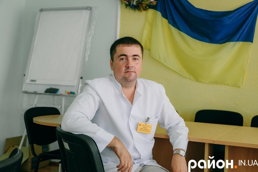 Заступник головного лікаря Турійської ЦРЛ Микола Шумік